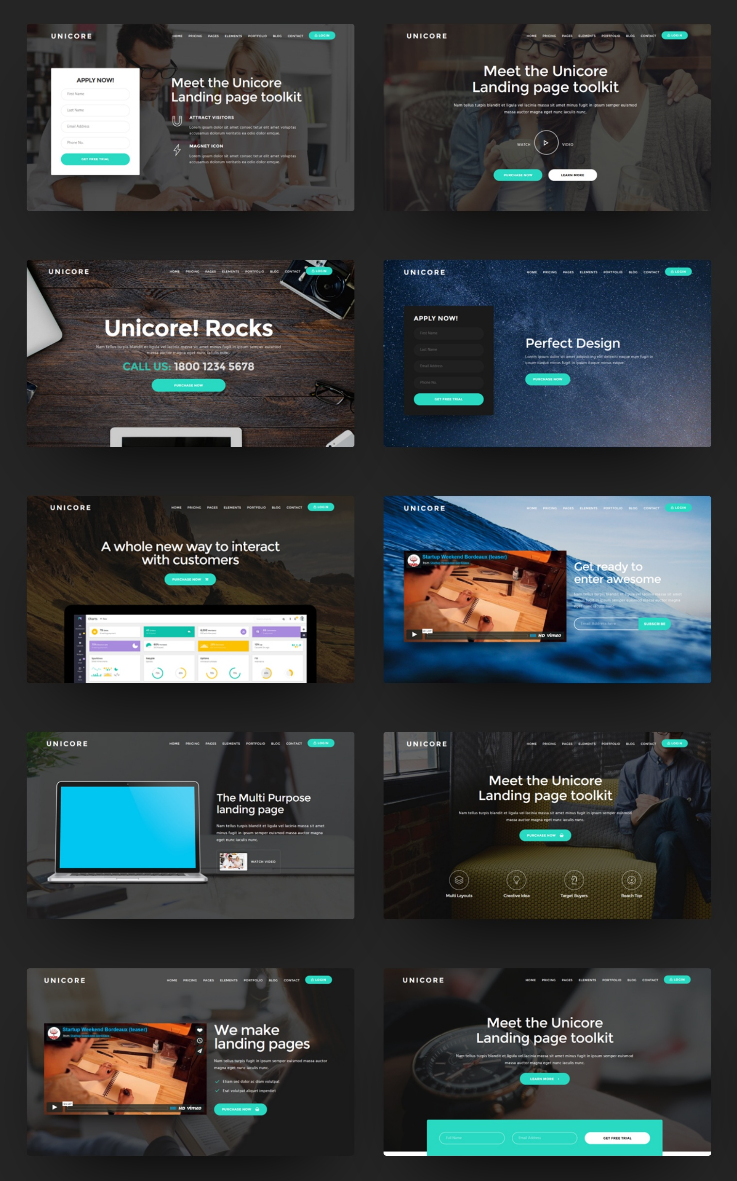 Free Bootstrap Responsive Theme Template