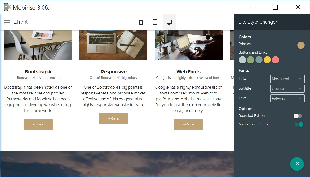 Free Responsive Site Creator Review