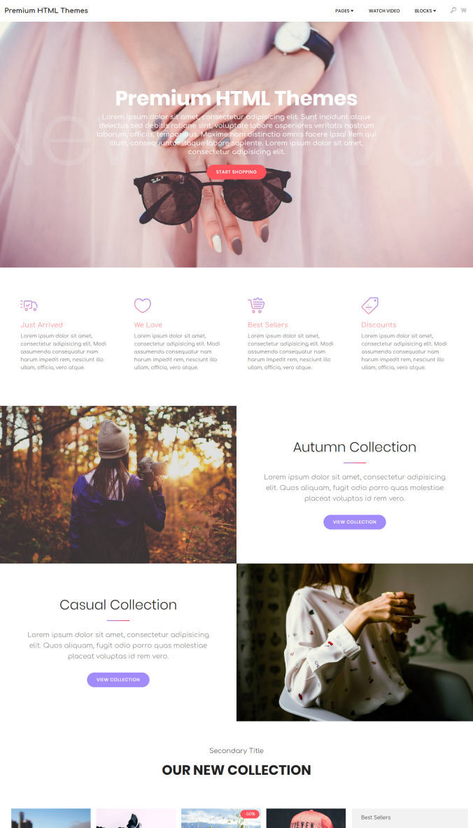 Best Website Template